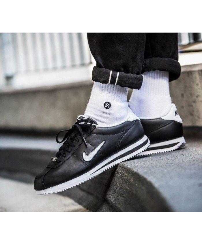 low cost d97c6 539df ... Kaki, Rouge Pas Cher. Nike Cortez Homme Jewel Noir Blanc