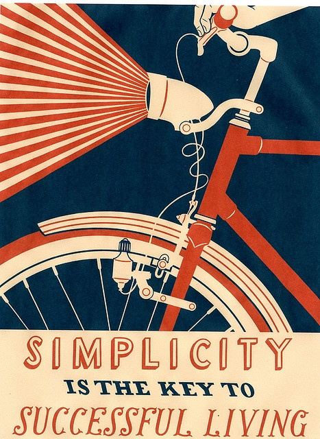 new wpa poster by nick dewar, love the light from the bike