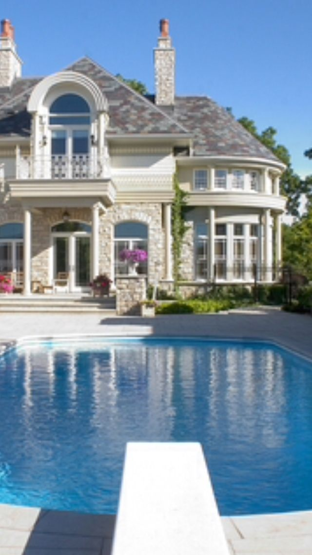 Big Beautiful Mansions With Pools 1397 best fabulous home pools images on pinterest | architecture