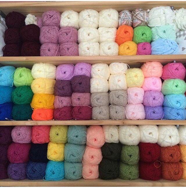 Wall of wool!