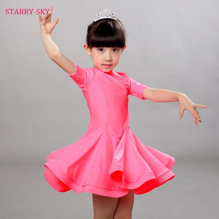 >> Click to Buy << Children Latin Dance Dress Girls Cha Cha/Rumba/Samba/Tango/Ballroom Performance Dresses Dance Skirt Vestido De Baile Latino  #Affiliate