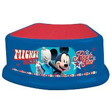 """Mickey Mouse Step Stool - Rock Star - Ginsey - Toys """"R"""" Us"""