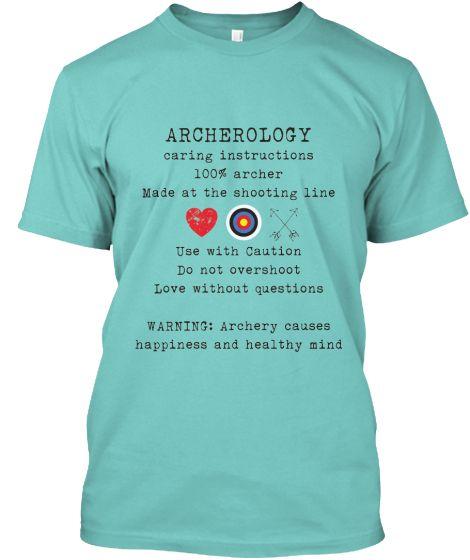 Archerology Instruction T-shirt Campaign