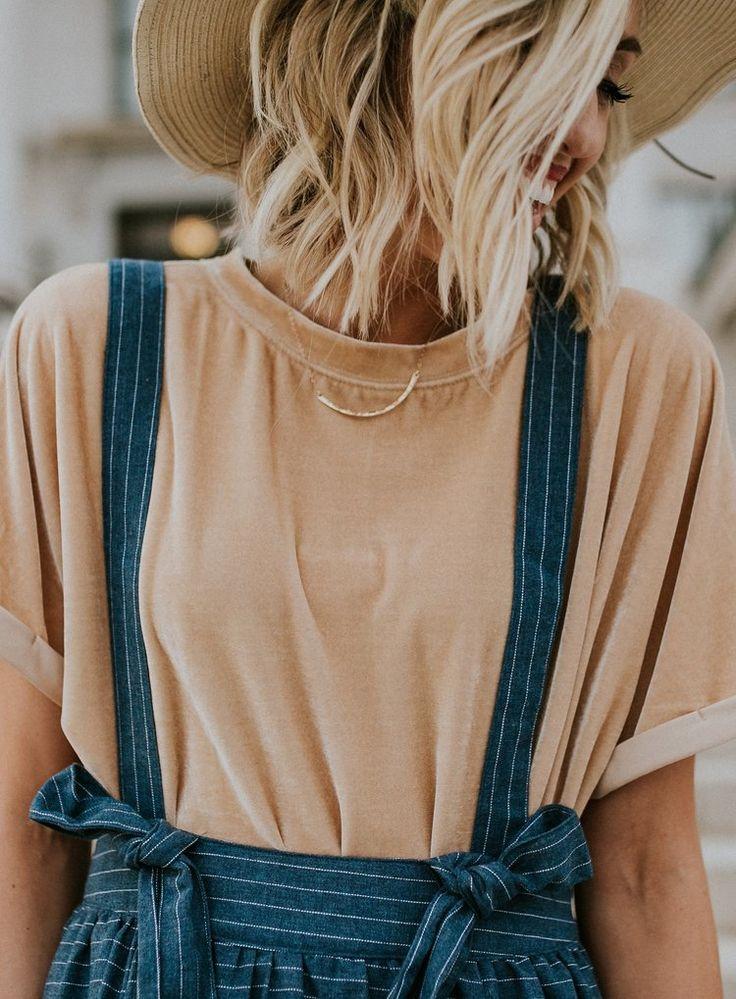 Velvet Shirt Overall Skirt | ROOLEE