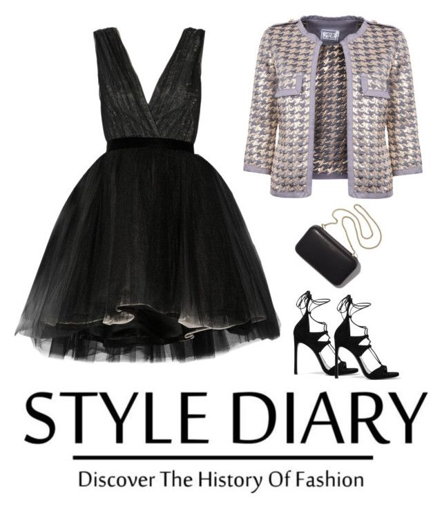 Be a Star Jacket by zipit21 on Polyvore featuring moda, Alice + Olivia, Stuart Weitzman and Clare V.