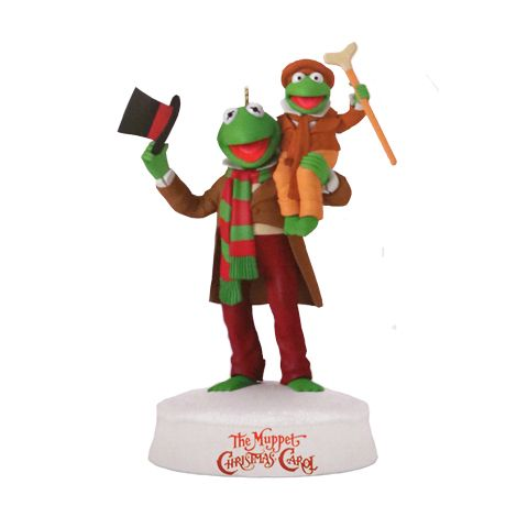 2017 'Merry Christmas Everyone' Hallmark Keepsake Ornament by Ken Crow. From The Muppets Christmas Carol movie. - digitalDREAMBOOK.com