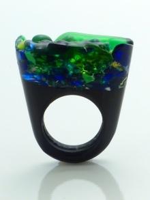 MURANO GLASS RING - PIETY BY PASIONAE