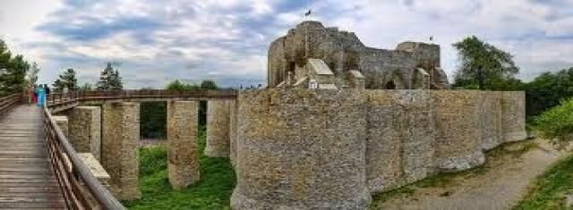 Historical places to visit in Romania.