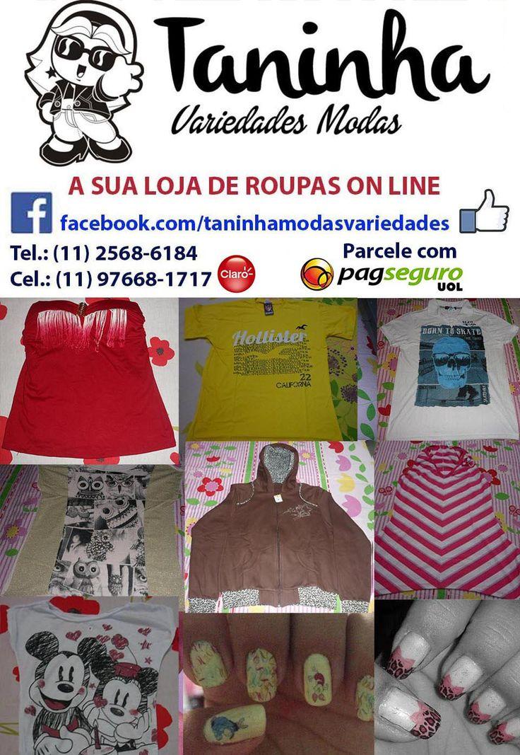 A sua loja de roupa on-line