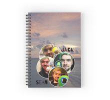 JackSepticEye Spiral Notebook