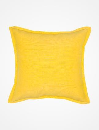 CROSSCOVER kuddfodral gul | Pillow | Pillow | Kuddar | Inredning | INDISKA Shop Online