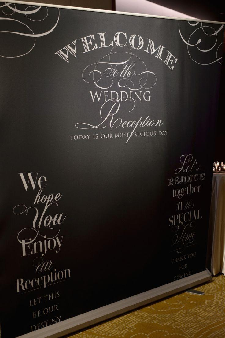 ウェルカムスペース2〜フォトブースと受付〜  yuka wedding☆palace hotel