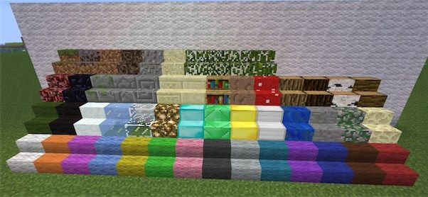Staircraft Mod for Minecraft 1.8.9/1.8/1.7.10  - MinecraftIO.Com -   Designed by the same developers of other popular mods like Wallcraft mod, Flowercraft mod or Slabcraft mod, the Staircraft mod brings convenience at high level into Minecraft world.  #Minecraft1710Mods, #Minecraft18Mods, #Minecraft189Mods -  #MinecraftMods