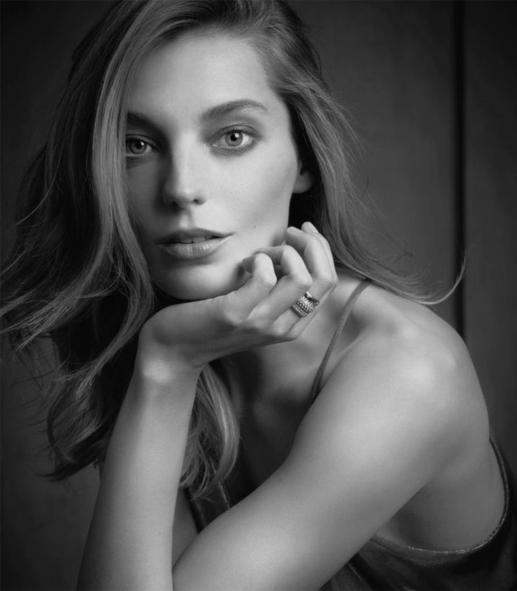 Daria Werbowy by Michael Thompson for Tiffany & Co. Spring Summer 2014