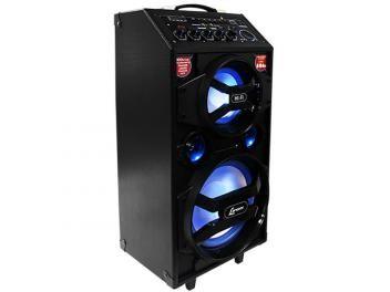 Caixa de Som Lenoxx CA 318 300W Ativa Bluetooth - USB Compatível com MP3 Micro SD e Microfone