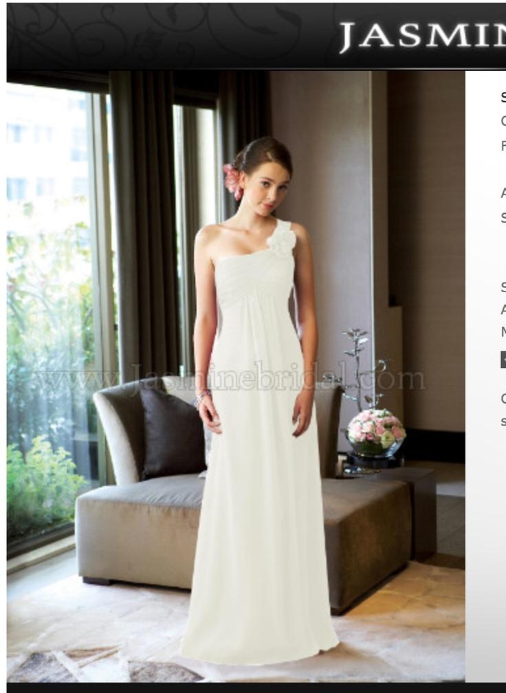 Ashlyn  Junior bridesmaid- ivory