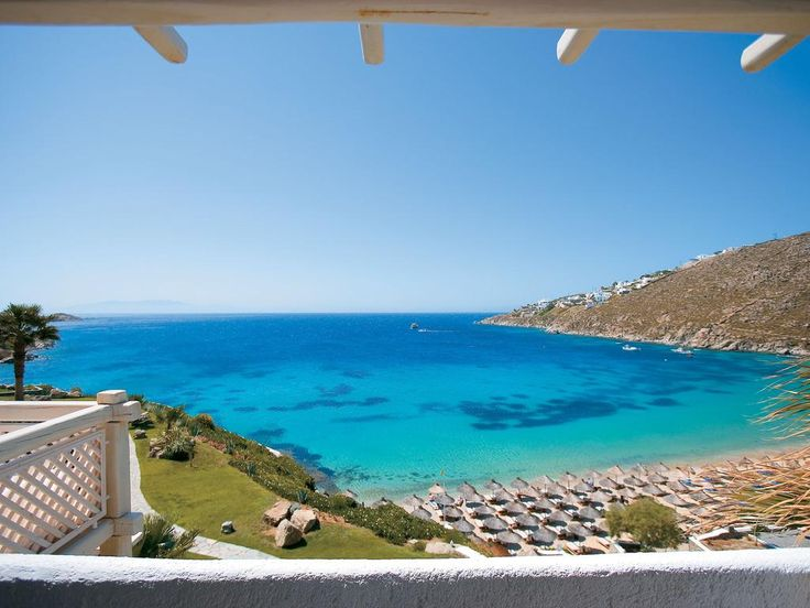 Mykonos Blu, Grecotel Exclusive Resort    Mykonos Blu, Grecotel Exclusive Resort boasts a spa, a 2-level infinity pool and luxurious sea-view accommodation. It stands on its private part of Psarou beach, offering free beach sun beds.