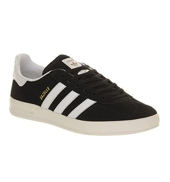 Adidas Gazelle Indoor Black White - His trainers