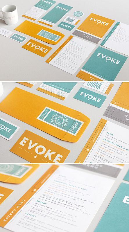 Evoke [a coffee shop] #identity | FounderyCo
