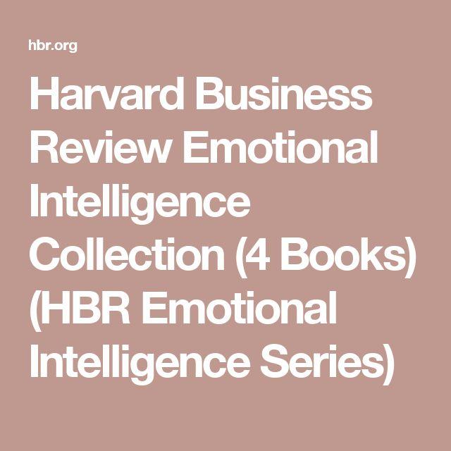 Harvard Business Review Emotional Intelligence Collection (4 Books) (HBR Emotional Intelligence Series)