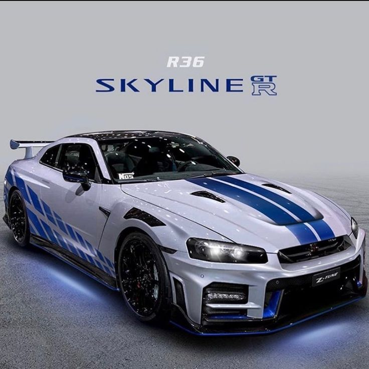 GTR R36 Concept dedicates to Paul Walker who passed away ...