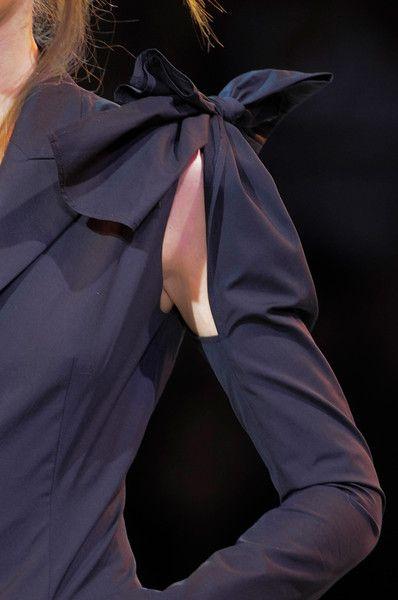 Yohji Yamamoto Spring 2014 - Details