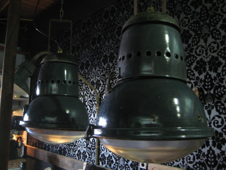 unieke blauw emaille lampen verkocht emaille emaille. Black Bedroom Furniture Sets. Home Design Ideas