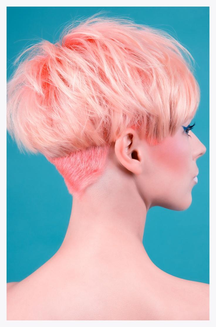 Soft pink..