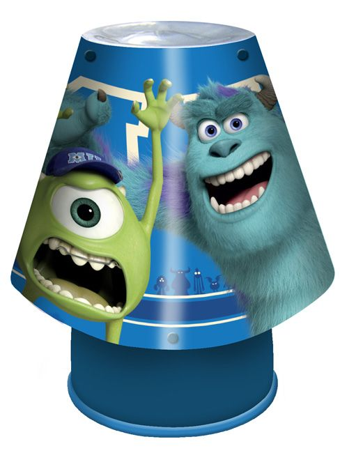Monsters Inc University Kool Lamp 100% Official Disney merchandise - Decorate your kids bedroom with this stunning Monsters University lamp - Features Sulley