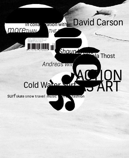 Magazine   david carson   #graphic_design #typography #david_carson