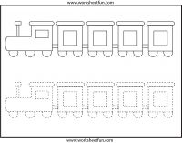 Picture Tracing – 1 Worksheet