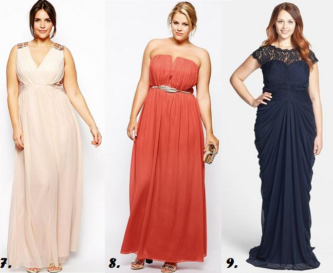 Shapely Chic Sheri: 40 Plus-Sized Summer Wedding Guest Dresses