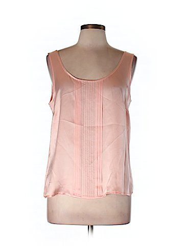 Escada Sleeveless Silk Top Size 42 (EU)