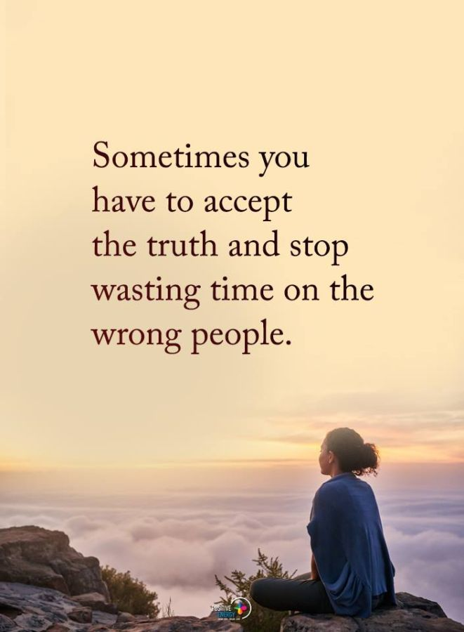 wasting time quote