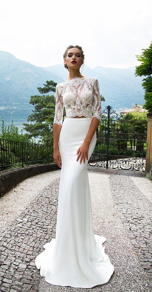 Milla Nova Bridal 2017 Wedding Dresses merill / http://www.deerpearlflowers.com/milla-nova-2017-wedding-dresses/18/