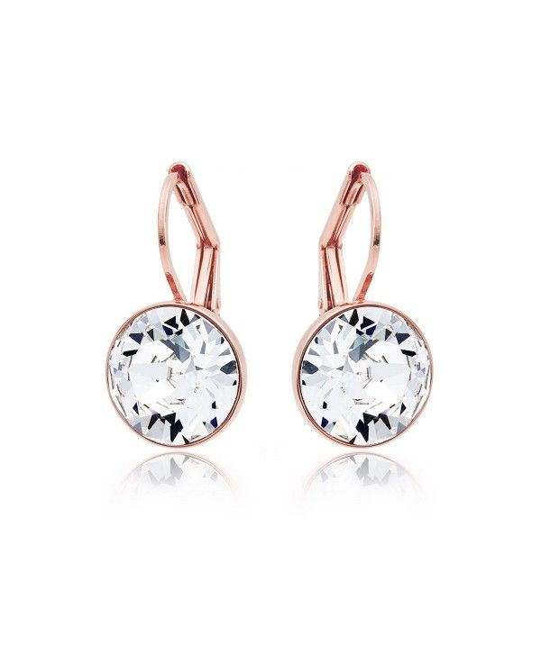 128246e066d Earrings, Drop & Dangle, MYJS Bella Rose Gold Plated Mini Drop Earrings  with Clear Swarovski Crystals - CF1230N1WGB #Earrings #fashion #style  #jewelry #Drop ...