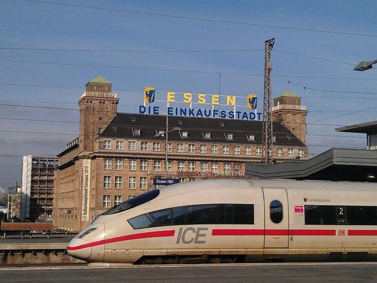 Essen Hauptbahnhof in Essen, Nordrhein-Westfalen