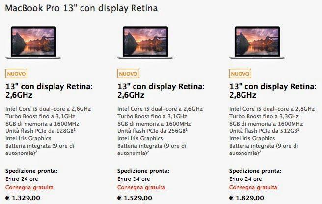 freelance80 free your space: Nuovi MacBook Pro con displa Retina, chiaramente s...
