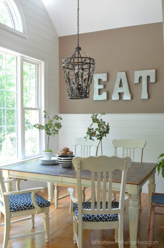 17 best ideas about wood plank walls on pinterest plank for Accent wall ideas for kitchen