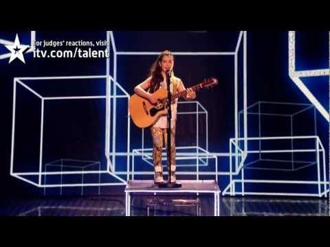 Lauren Thalia Earthquake - Britain's Got Talent 2012 Live Semi Final - UK version