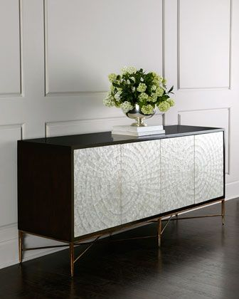 OMG! Most beautiful piece of furniture I've seen in a while. Love, love, love this!  (Bernhardt Shay Console via Horchow)