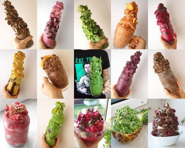 Herbivore's meals: Kręć wegańskie lody niczym mistrz! [garść pomysłów na lody]