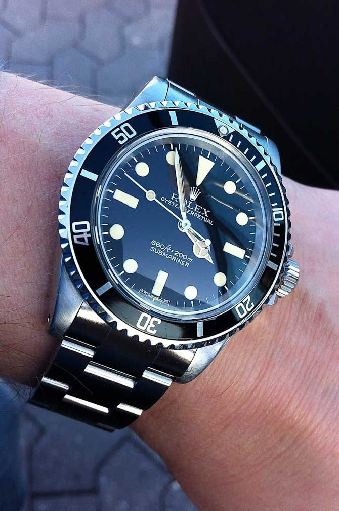 Vintage Rolex Submariner 5513 From my competition - a watch from one of my  readers