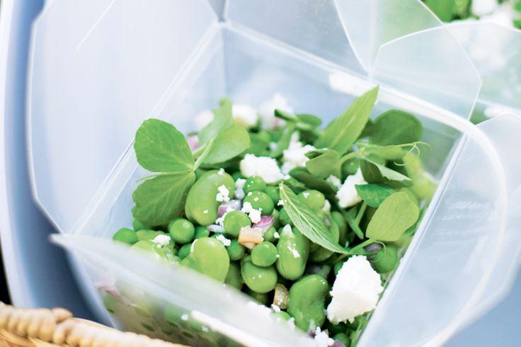 Pea, Bean And Feta Salad Recipe - Taste.com.au