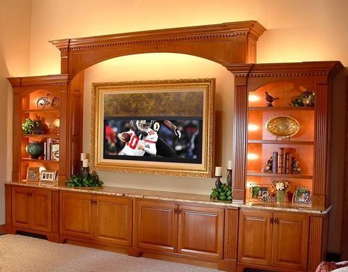42 best Hidden TVs images on Pinterest | Hidden tv, Family room and ...