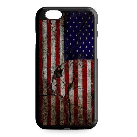 American Cracked iPhone Heavy Duty Case