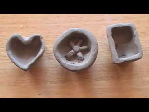 Clay traditional pinch pots link in history