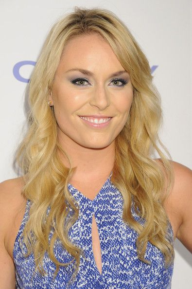 Lindsey Vonn's Blonde Waves