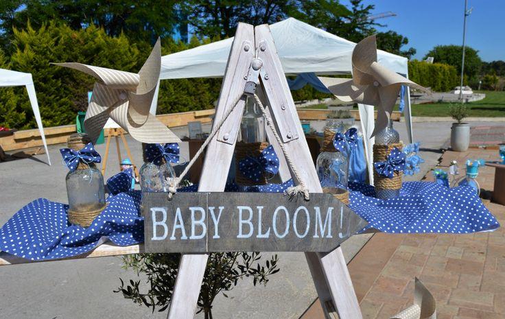 baby bloom Baptism Decoration Διακόσμηση Βαπτισης Στολισμος
