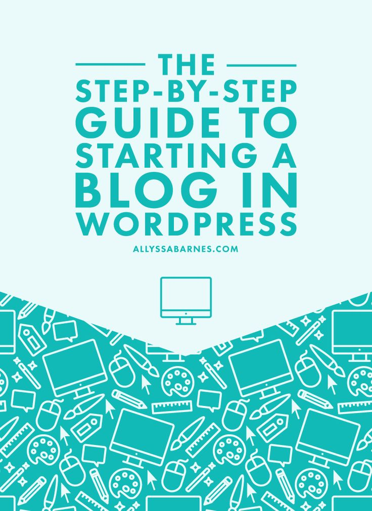 The Step-by-Step Guide to Starting a WordPress Blog | Starting a WordPress blog can be overwhelming, but it doesn't have to be. Here are the steps you need to take to get up and running in no time. Click on through to get started. via @allyssabarnes
